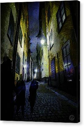 Night Wanderers Canvas Print by Gun Legler