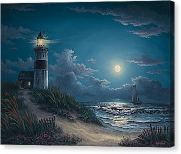 Night Watch Canvas Print by Kyle Wood