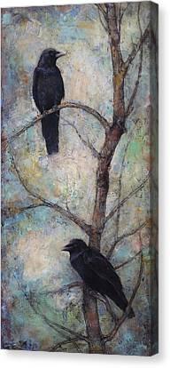 Night Watch -  Ravens Canvas Print