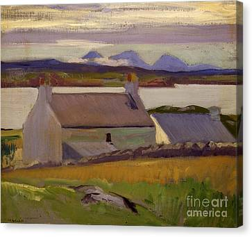Nightfall  Iona Canvas Print by Francis Campbell Boileau Cadell