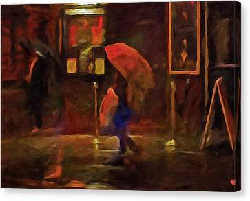 Nightlife Canvas Print by Michael Pickett