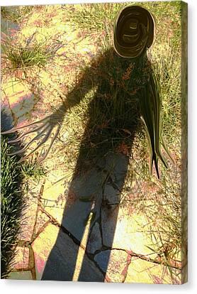 Nightmare Shadow Canvas Print