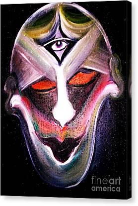 Nightmare Sweats Canvas Print by Rachel Carmichael
