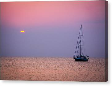 Night's Anchor Canvas Print