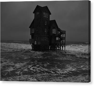 Nights In Rodanthe Movie Serendipity House   Canvas Print by Mark Lemmon