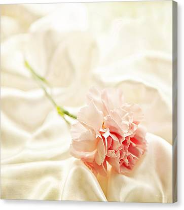 Nights In White Satin Canvas Print by Theresa Tahara