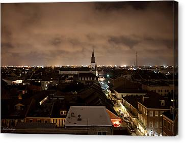 Nightscape Canvas Print by Shelly Stallings