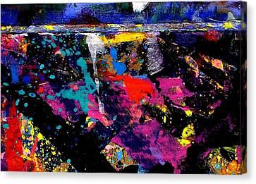 Nighttown  Iv  Canvas Print