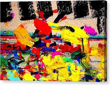 Nighttown Music Canvas Print by John  Nolan