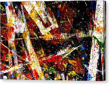 Nighttown  Xv Canvas Print