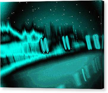 Nightwalkers Canvas Print by Wendy J St Christopher