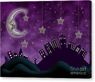 Nighty Night Canvas Print by Juli Scalzi