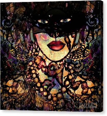 Night Prowler Canvas Print by Natalie Holland