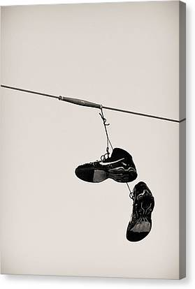 Nikes Canvas Print by Tracy Salava