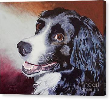 Nikki's Portrait Canvas Print