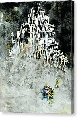 Nine Eleven Canvas Print by Jim Bates
