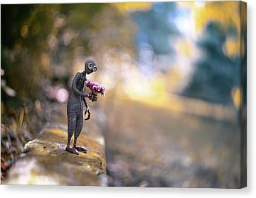Doll Canvas Print - Nine by Erdal Suat
