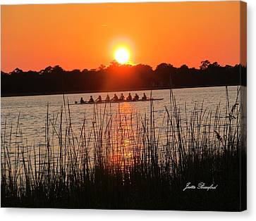 Canvas Print featuring the photograph Nine Gifts  by Joetta Beauford