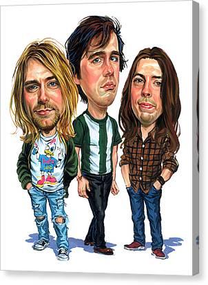 Dave Canvas Print - Nirvana by Art