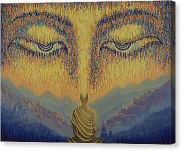 Tibetan Buddhism Canvas Print - Nirvana by Vrindavan Das