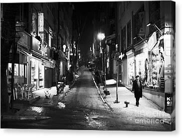 Nisantasi Street Canvas Print by John Rizzuto