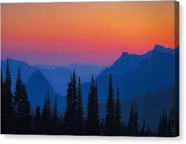 Nisqually Rainbow Canvas Print