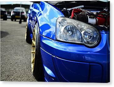 Subaru Impreza Canvas Print - Nissan 370z by Phil Kellett
