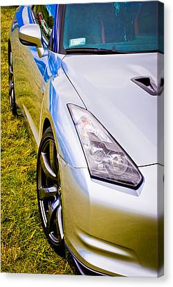 Nissan Gtr 2 Canvas Print by Phil 'motography' Clark