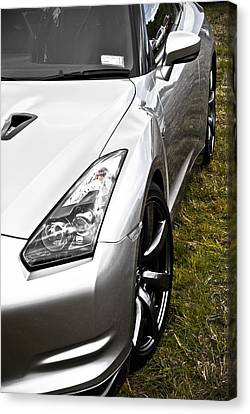 Nissan Gtr Canvas Print by Phil 'motography' Clark