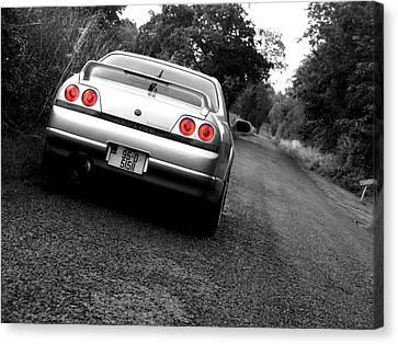 Nissan Skyline Canvas Print by Eddie Armstrong