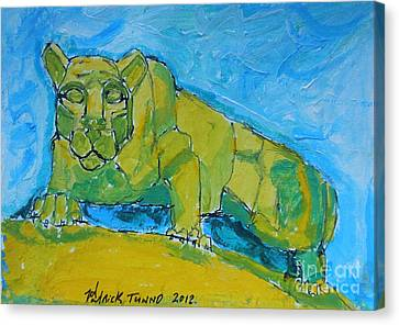 Nittany Lion Canvas Print by Pj T