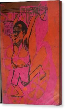 Nixon Surfs Up  Canvas Print by James Christiansen