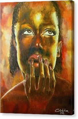 Nkosazana Canvas Print