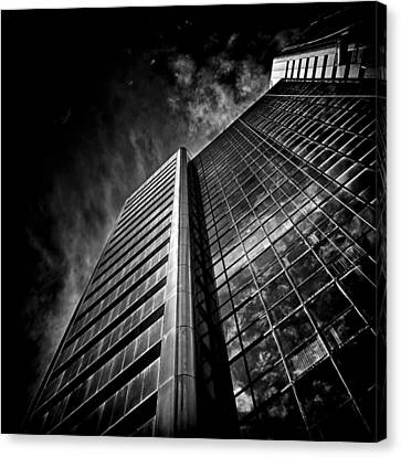 No 123 Front St W Toronto Canada Canvas Print by Brian Carson
