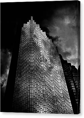 No 200 Bay St Rbp South Tower Toronto Canada Canvas Print by Brian Carson