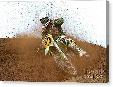 Canvas Print featuring the photograph No. 23 by Jerry Fornarotto