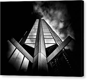 No 595 Bay St Toronto Canada Canvas Print by Brian Carson