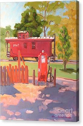 No. 7 Canvas Print by Rhett Regina Owings