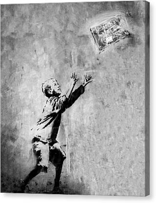 No Ball Games  Canvas Print by A Rey