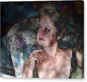 No Illusions Canvas Print by Peri Craig
