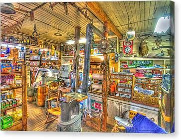 No Lattes Or Wi Fi Here  Canvas Print by Constantine Gregory