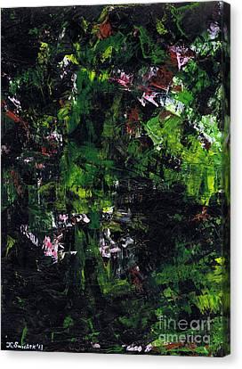 No Leaf Clover - Left  Canvas Print by Kamil Swiatek
