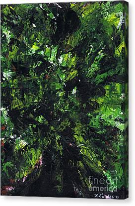 No Leaf Clover - Middle Canvas Print by Kamil Swiatek