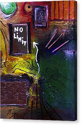 No Limits Canvas Print by Mirko Gallery