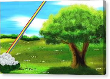 No More Rain Canvas Print by Shana Rowe Jackson