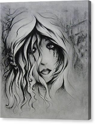 No More Tears Canvas Print by Rachel Christine Nowicki