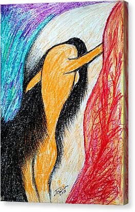 No Option Canvas Print by Hari Om Prakash