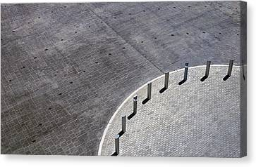 Canvas Print featuring the photograph No Parking by Glenn DiPaola