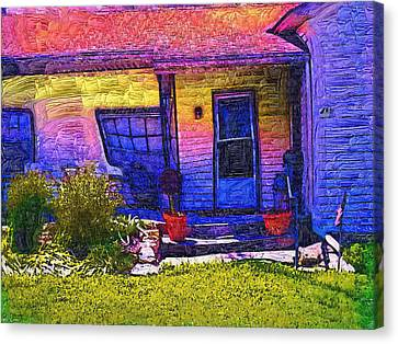 Canvas Print featuring the painting No Place Like Home by Tyler Robbins