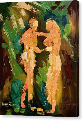 No Shame Canvas Print by Anthony Falbo